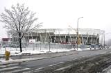 Stadion ŁKS rośnie jak na drożdżach, Niech się mury pną do góry!