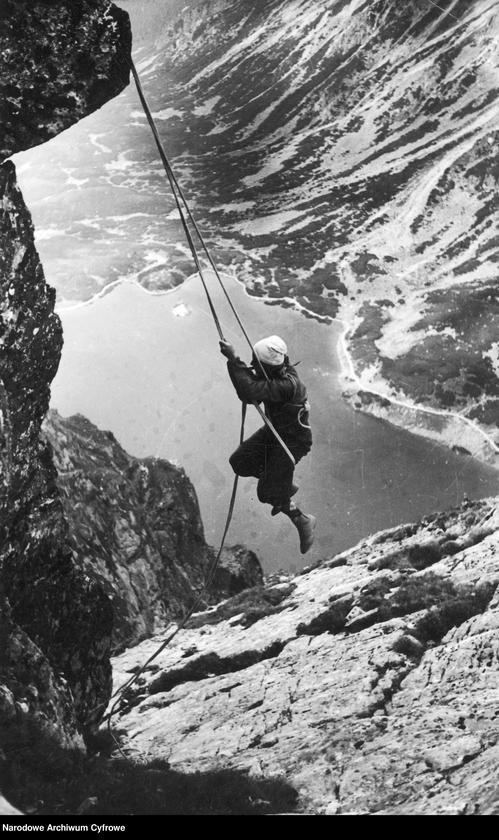 Wspinanie w Tatrach było popularne już wiele lat temu