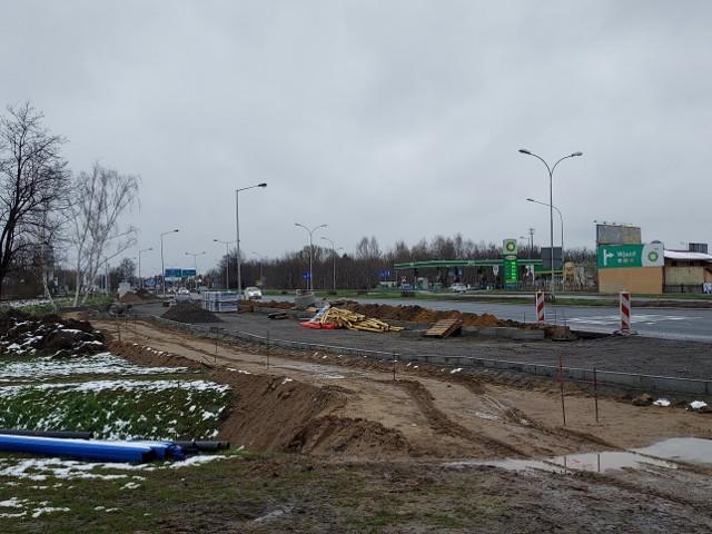 Przy ul. Warszawskiej w Rzeszowie budowany jest parking z którego korzystać będzie Inspekcja Transportu Drogowego.