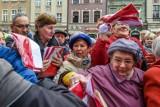 Poznań: Będą rozdawać za darmo flagi Polski i Unii Europejskiej
