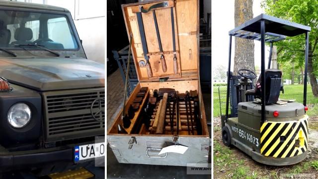 Agencja Mienia Wojskowego w Szczecinie organizuje przetarg na sprzedaż sprzętu wojskowego. Co można kupić? Sprawdźcie!Więcej na kolejnych slajdach >>>
