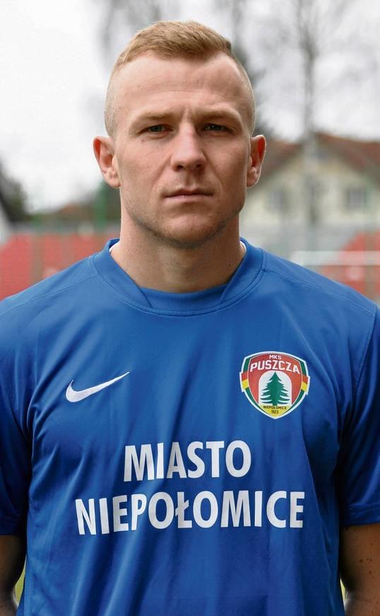 Adrian Gębalski poprzednio grał w Wiśle Sandomierz (III liga)