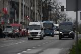 Przewoźnicy protestowali w Kielcach! Kawalkada kilkudziesięciu autobusów w mieście i postulaty do premiera [ZDJĘCIA, FILM]