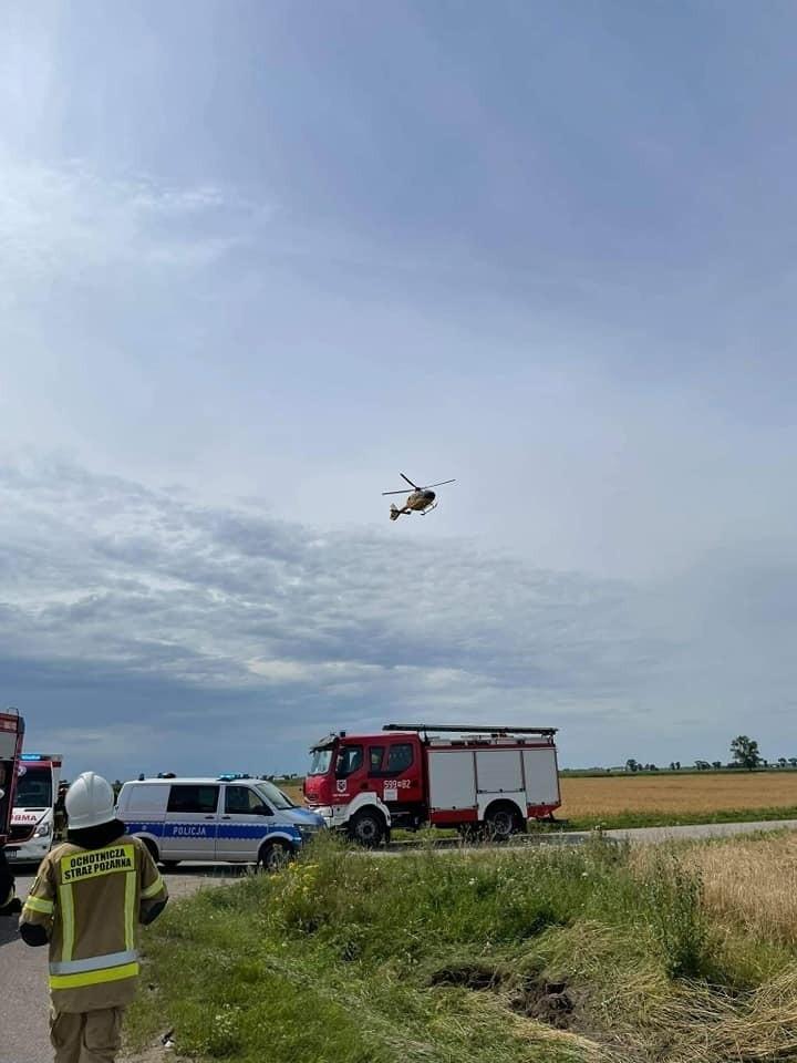Podlascy celnicy ratowali ofiary poważnego wypadku w...