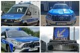 Nowe radiowozy w podlaskiej policji. To volkswagen crafter, hybrydowa toyota rav 4, toyota land cruiser i volkswagen transporter [ZDJĘCIA]
