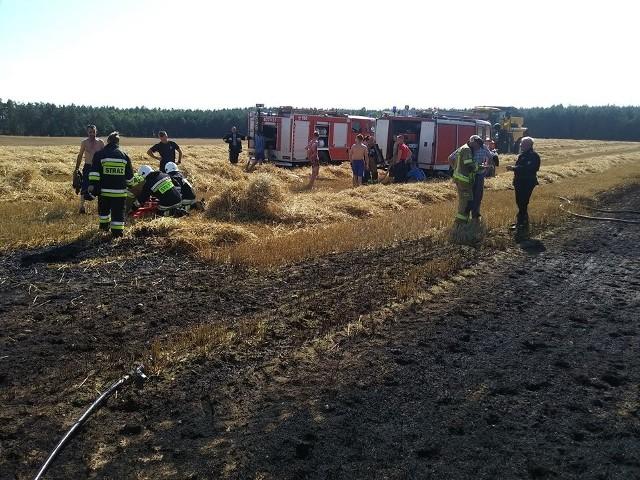W sobotę doszło do dwóch groźnych pożarów.