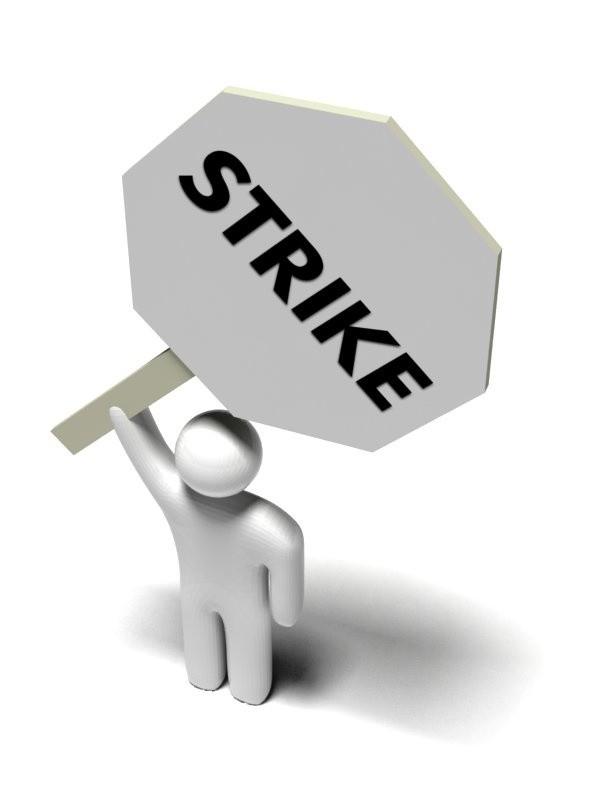 Prawo do strajku było w ub. roku najczęściej ograniczanym prawem pracowniczym, w największej liczbie państw