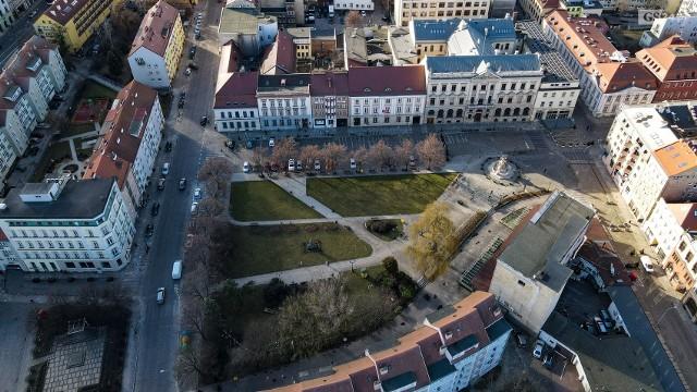 Plac Orła Białego w Szczecinie.