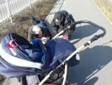 Warszewo: Pijany dziadek na spacerze z wózkiem [zdjęcia]
