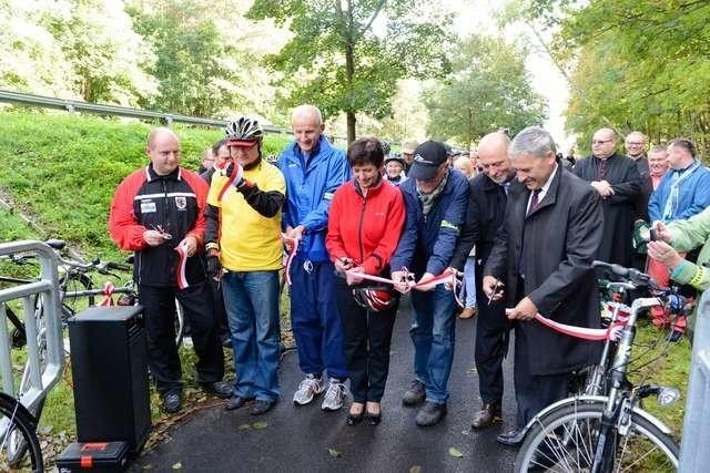 W ubiegłym roku otwarta została trasa rowerowa Toruń-Unisław.