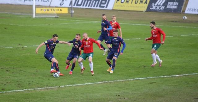 Zagłębie Sosnowiec  - Odra Opole 0-2.