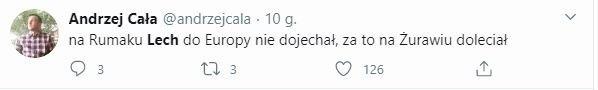 Lech Poznań po kapitalnej grze w eliminacjach Ligi Europy...