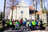 """Inowrocław. Rajd rowerowy z okazji Dnia Kobiet z Klubem Turystyki Rowerowej """"Kujawiak"""" z Inowrocławia. Zdjęcia"""
