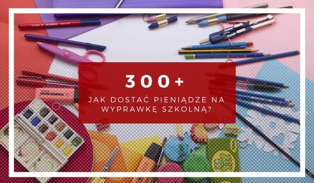 300 zł na wyprawkę szkolną dla dziecka. Jak otrzymać pieniądze? Zobacz na grafikach - krok po kroku.
