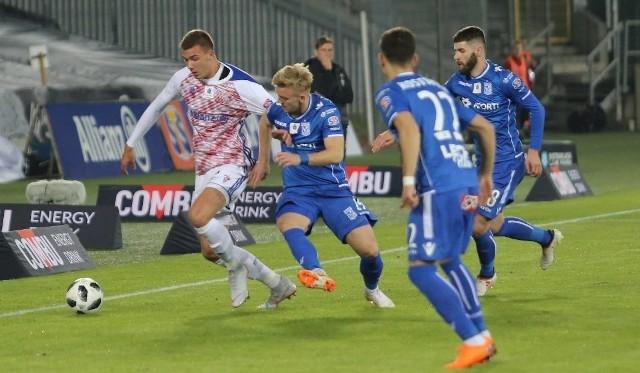 W rundzie jesiennej Lech zremisował z Górnikiem w Zabrzu 2:2