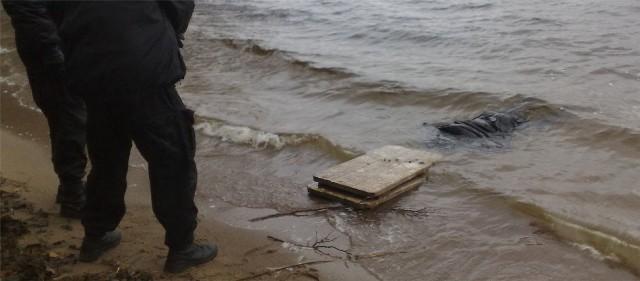 Szczecinek. W jeziorze Trzesiecko odnaleziono zwłoki mężczyzny.
