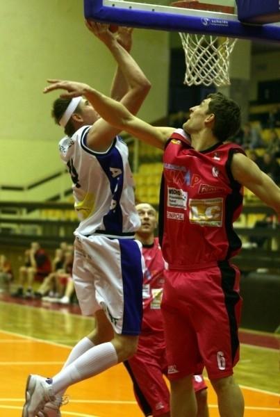 Tomasz Pisarczyk zagrał dobry mecz w gdyńskiej hali.