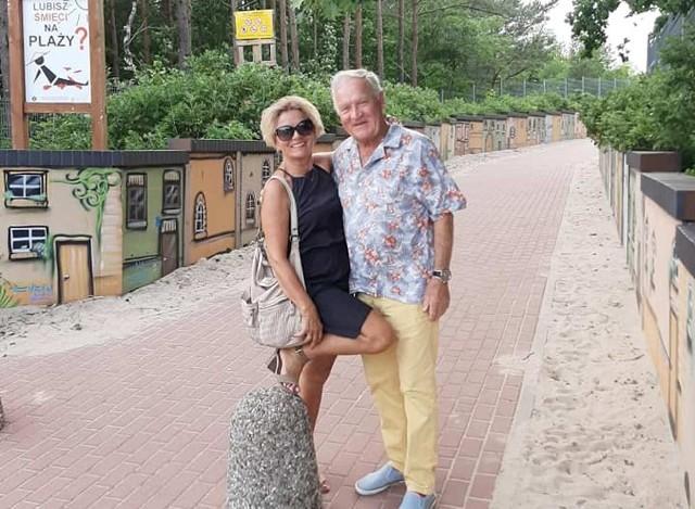 Impreza urodzinowa uczestników Sanatorium Miłości! Iwona Mazurkiewicz i Gerard Makodsz lubiani uczestnicy Sanatorium miłości spędzają wakacje.