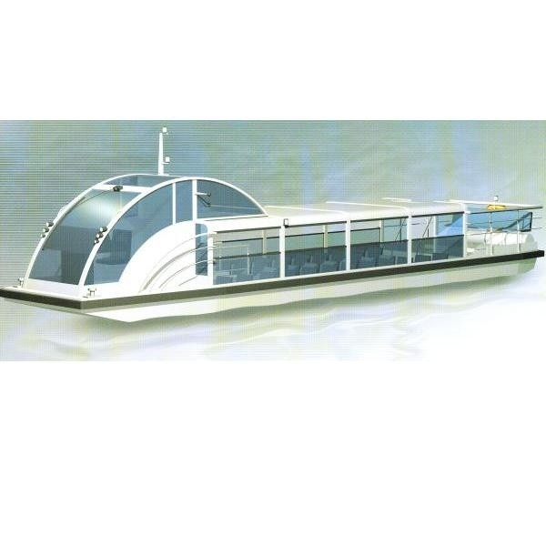 Tramwaj wodny zabiera na pokład od 17 do 50 pasażerów.
