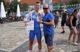Ogólnopolska Olimpiada Młodzieży.  Sukces kolarza Społem. Brązowy medal Jakuba