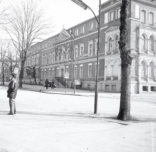 Muzeum Ziemi Lubuskiej w latach 70. XX wieku.