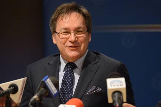 Krzysztof Dąbrowski, były prezes Miejskich Wodociągów i Oczyszczalni w Grudziądzu, przyszły prezes Izby Gospodarczej Wody Polskie