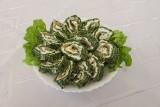 Rolada  szpinakowa  z łososiem  proponuje Koło Gospodyń Wiejskich Sokolniki