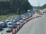 Ogromne korki na autostradzie A1! Jaki czas oczekiwania? ZDJĘCIA