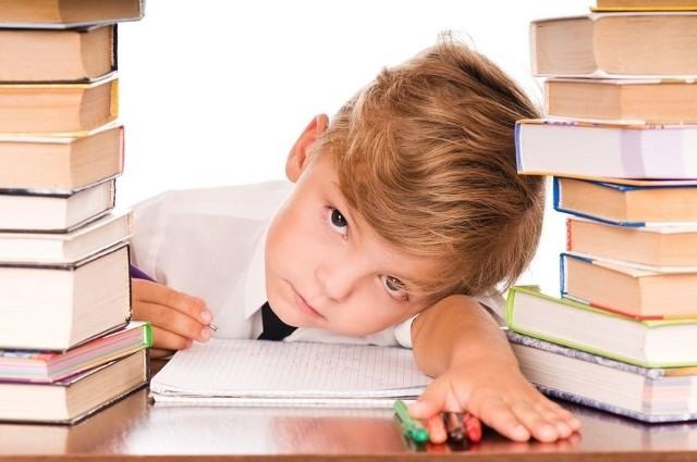 Za dużo prac domowych zadawanych w szkole?