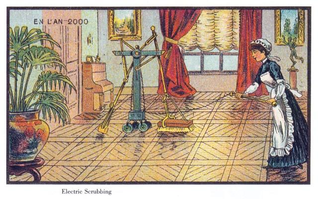 Ta przepowiednia sprawdziła się w stu procentach, nawet jeśli ludzie z XIX wieku nie do końca umieli sobie wyobrazić dzisiejsze odkurzacze typu Roomba.