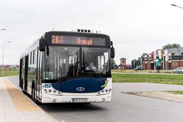 Z powodu zamknięcia drogi powiatowej autobusy kursują inaczej. Linia 264 dojeżdża tylko do pętli w Brzegach, a 221 kuruje objazdem