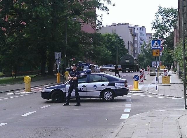 Niewybuchy w okolicy ul. Cyryla i Metodego w Szczecinie