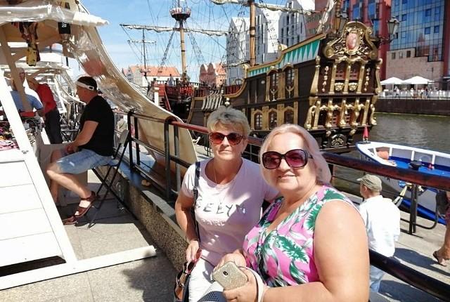 Zofia Stawczyk (z lewej) nie ma zbyt wielu czasu na odpoczynek, dlatego też każdy wakacyjny urlop stara się spędzić aktywnie.