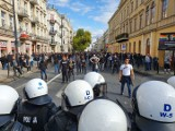 Marsz Równości w Lublinie. Policja zatrzymała kilkadziesiąt osób