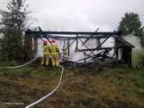 Hałe. Tragiczny pożar stodoły w Podlaskiem. Nie żyje mężczyzna [ZDJĘCIA]