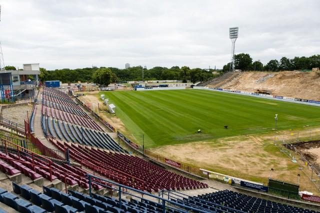 Jesienią pojemność stadionu będzie wynosiła ok. 4200 miejsc.