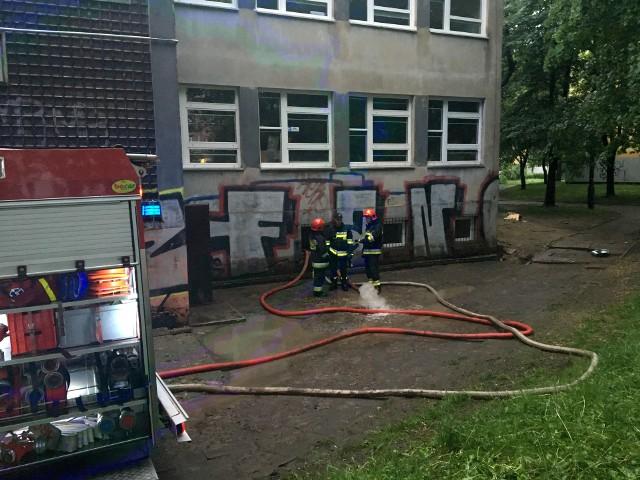 Ulewa w Łodzi 11.05 zniszczyła budynek fundacji JiM w Łodzi