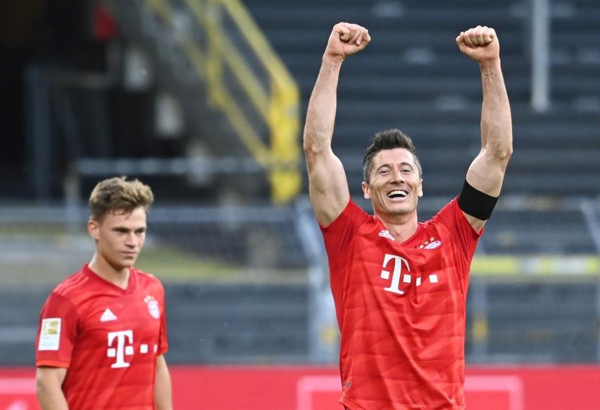 """Informacja o tym, że Real Madryt znów pytał o Roberta Lewandowskiego, najprawdopodobniej okazała się nieprawdziwa (wspomniał o tym Mateusz Borek w programie """"Misja futbol"""", ale wygląda na to, że Królewscy pytali o innego piłkarza Bayernu Monachium). Gdyby jednak Polak (na co się aktualnie nie zanosi), znów zapragnął zmienić otoczenie, to dokąd mógłby odejść? Czy jest jakiś klub, w którym byłoby mu lepiej niż w Bayernie? Sprawdźmy...Uruchom galerię klikając w ikonę """"następne zdjęcie"""", strzałką w prawo na klawiaturze lub gestem na ekranie smartfonu"""