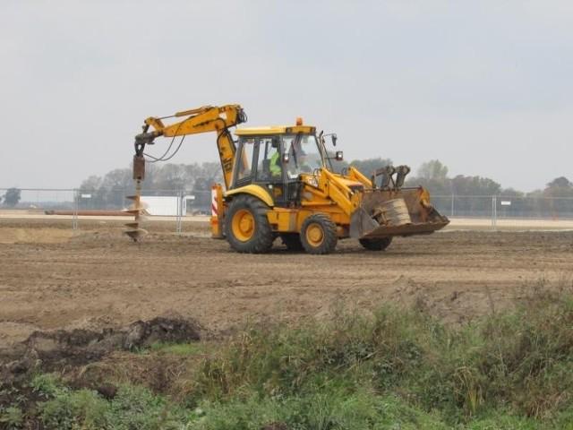Fabryka VW we Wrześni: Prace trwają [ZDJĘCIA]