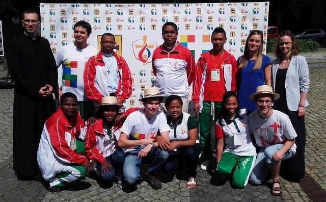 Wczoraj Poznań odwiedzili młodzi katolicy z Madagaskaru. Do piątku będą w Środzie Wlkp.