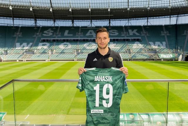 Patryk Janasik graczem Śląska Wrocław