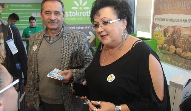 Do udziału w Świątecznej Zbiórce Żywności zachęcają Anna Głogowska i Krzysztof Sokołowski z Radomskiego Banku Żywności.