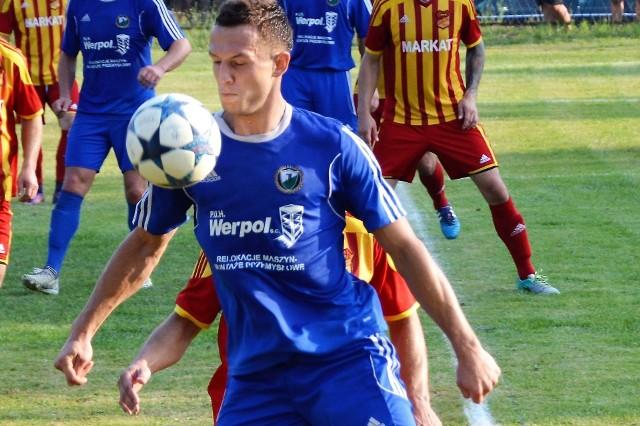 Adrian Korczyk wykonał strzelecką normę, zdobywając dwa gole.