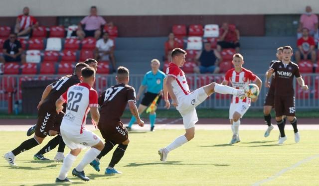 Piłkarzom Resovii po raz kolejny zabrakło argumentów w ataku. Niezłe sytuacje stworzyli dopiero gdy przegrywali już 0:2