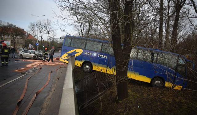 Dwie osoby zostały ranne w wypadku, do którego doszło w piątek przed południem (18 grudnia) na ul. Krakowskiej. Czytaj więcej: Wypadek autobusu na Krakowskiej. Są ranni [ZDJĘCIA]