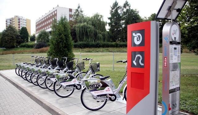 W sierpniu nowe rowery pojawiły się na pięciu stacjach Orlen