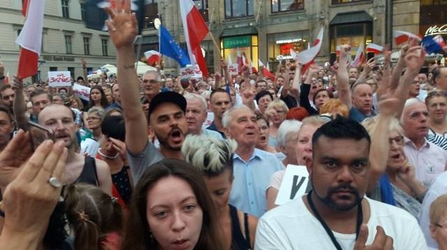 Protest na Rynku