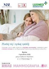 Bezpłatne badania mammograficzne w Bytowie już w grudniu