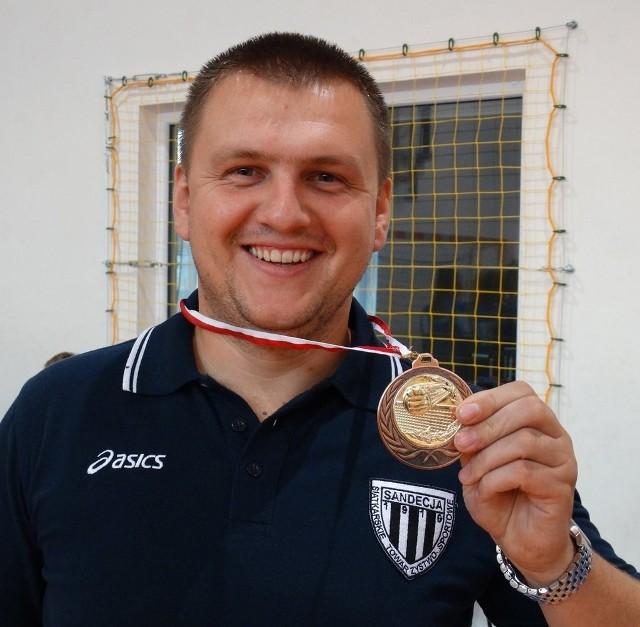 Trener Andrzej Potoniec