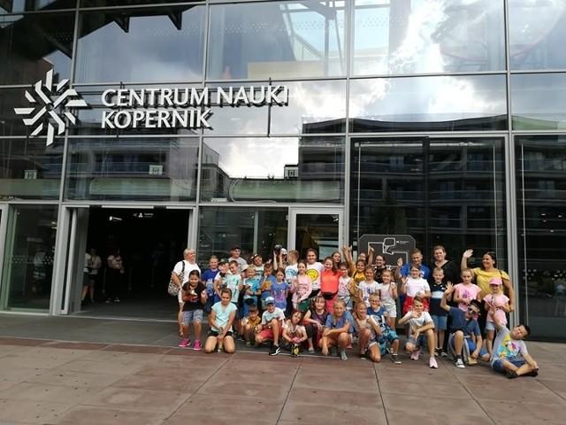 Wycieczka do Warszawy na zakończenie wakacji
